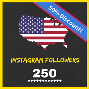 Buy 250 USA Instagram Followers