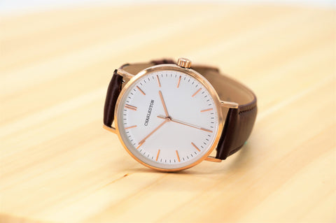 charleston watches rose gold