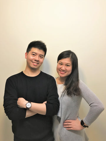 Boo and Jie from Charleston Watches