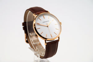 New! Charleston Rose Gold/Tan Watch Series - Charleston watches, Watch