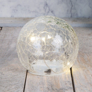 Crackle LED Ball