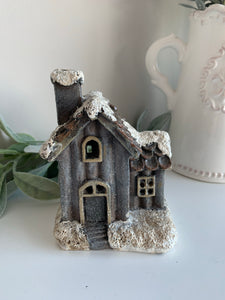 Christmas Glitter LED Cottage