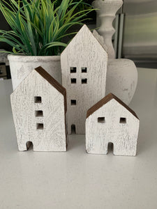 Assorted Wooden Houses