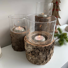 Rustic Birch candle holders (3 Sizes)