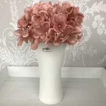 Faux Hydrangea Posy (Pink, White or Grey)