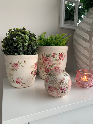 Rose Planter Set