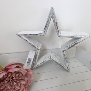 White Mantle Stars (Sm, Med, Lge)