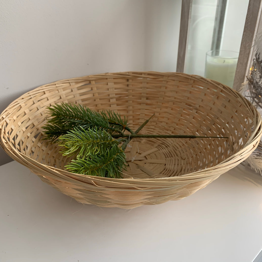 Round Bread Basket 12