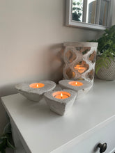 Stone Tealight holders (3 Sizes)