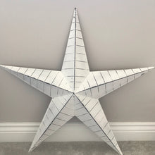 Extra Large White Barn Star
