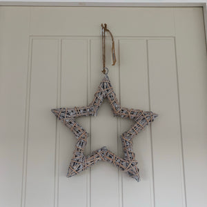 Rustic Willow Star (2 Sizes)