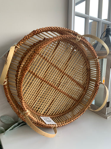 Natural Bamboo Trays (2 Sizes)