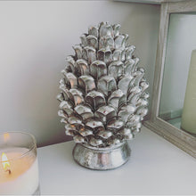 Standing Pinecone Ornament