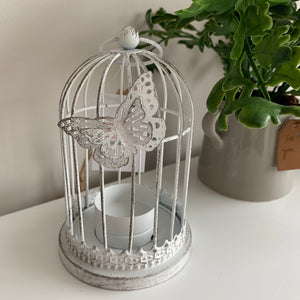 Metal Butterfly Tealight Holder