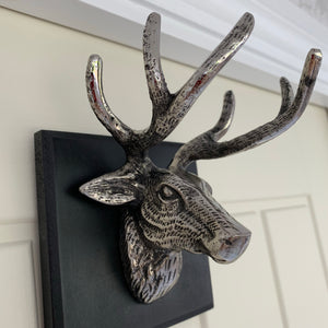 Stag Head Wall Plaque