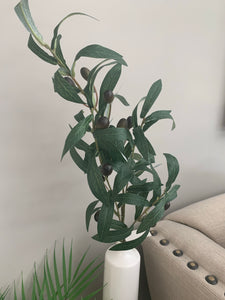 Artificial Olive Tree Branches