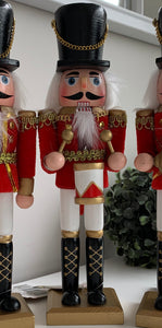 Red Festive Nutcrackers (3 Options)