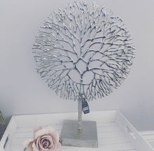Large Silver Coral Sculpture 51cm