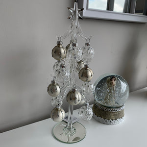Glitzy Glass Bauble Tree