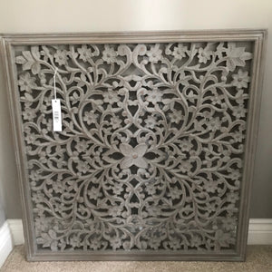 Large Grey Wall Panel
