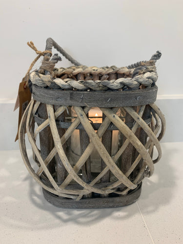 Outdoor Willow Lantern