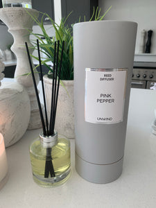 Boxed Reed Diffuser - Pink Pepper