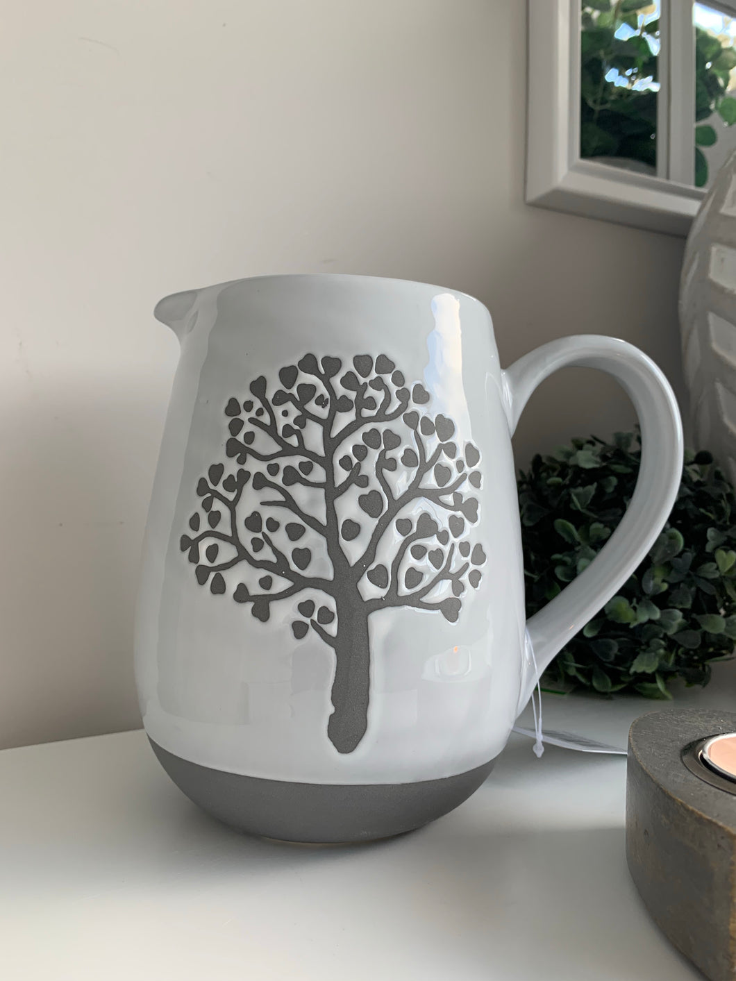 Grey Family Tree Jug
