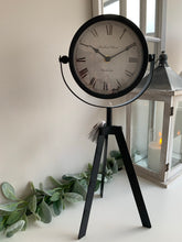 Tall Tripod Clock (3 Colours)