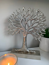 Large Silver Tree of Life Ornaments (2 Sizes)