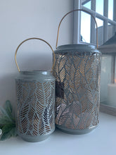 Grey Feather Lantern (2 Sizes)