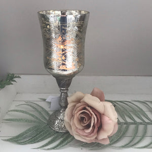 Vintage Stemmed Candle Holder
