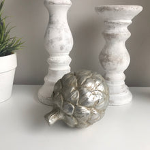 Silver Artichoke Ornament (2 Sizes)