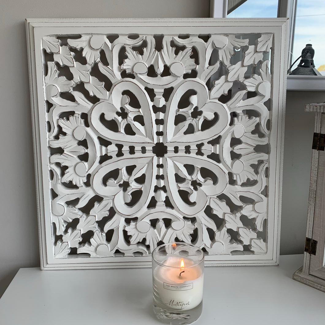 Medium White Wall Panel