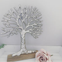 Large Silver Tree of Life Ornament 36cm
