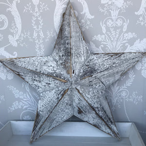 White Wooden Barn Star