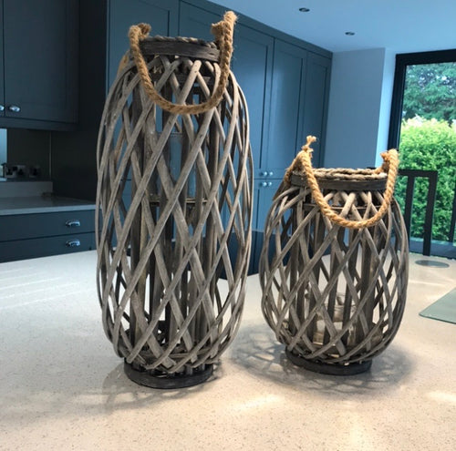 Large Willow Lanterns (51cm & 31cm)