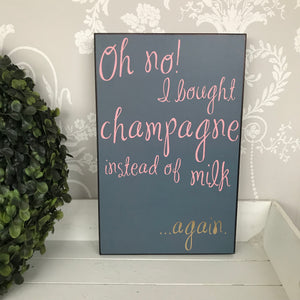 Oh no.. wall plaque