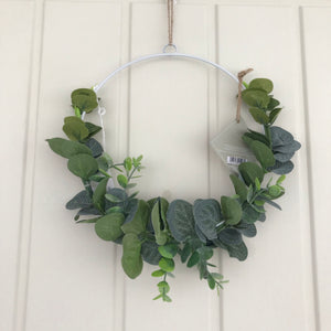 Entwined Eucalyptus Wreath