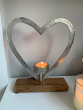 Large Heart Candle Holder