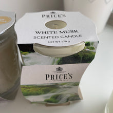 Glass Scented Candles (Various)