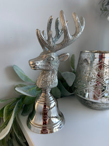 Silver Stag Bell