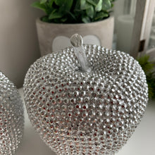 Glitzy Apple / Pear Ornament