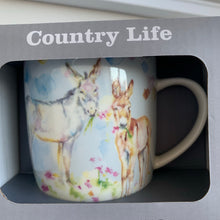 Country Life Watercolour Mugs