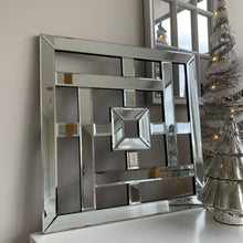 Geometric Mirrored Wall Hanging