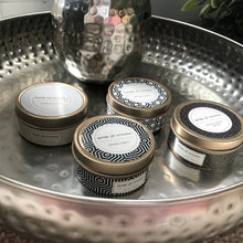 Set of 3 mini candle tins