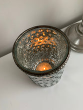 Silver speck Candle Pot (Tall)