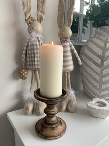 Wooden Candlesticks (2 colours)