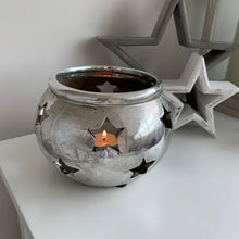 Round Star Candle Holder