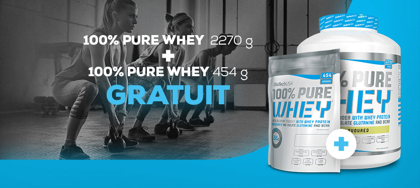 Pure whey promotion