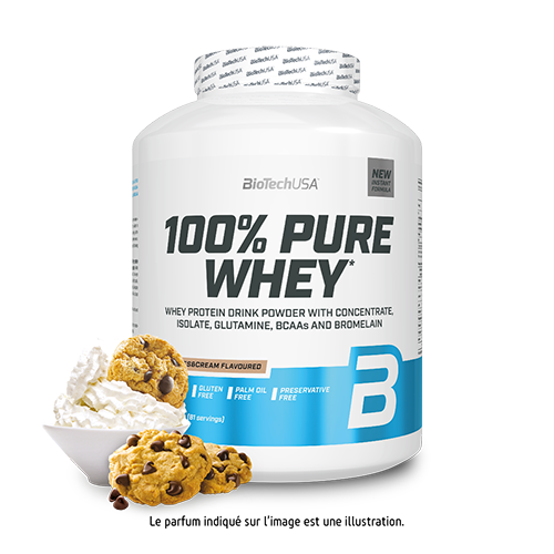 100% Pure Whey - 2270 g cookies&cream - BioTechUSA